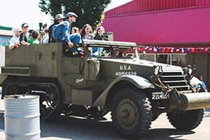 Vintage Vehicle Rides at Remembering WWII